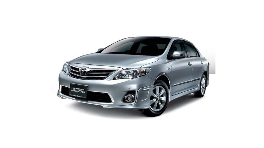 Toyota Corolla in Chirie